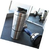Stainless Steel Protein Shaker / Mixer Bottle / Blender Cup