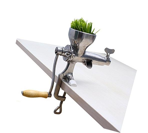 Stainless Steel Wheat grass Hand Juicer Manual Juicer