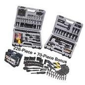 Mechanic Tool Set Kit Stanley Power Tools Sockets Ratchet