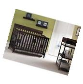 Graco Stanton 4-in-1 Convertible Fixed-Side Classic Crib,