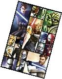 STAR WARS ~ THE CLONE WARS BOXES CAST 24x36 CARTOON POSTER