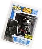 Star Wars Darth Vader Chrome Hot Topic Exclusive FUNKO Pop