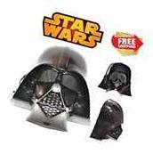 NEW Star Wars Darth Vader Full Face Mask Adult Child Costume