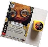 Star Wars Destiny CCG TCG Maz's Goggles #50 with Die Spirit of Rebellion