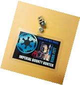 Star Wars Id Badge - Imperial Bounty Hunter Boba Fett prop