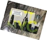 Starbucks Gift Card NYC SKYLINE New York City  Graffiti