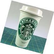 Starbucks Reusable Coffee Cup mug with monogram personalized