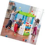 Children Playhouse Step2 Play Ball Fun Climber Outdoor