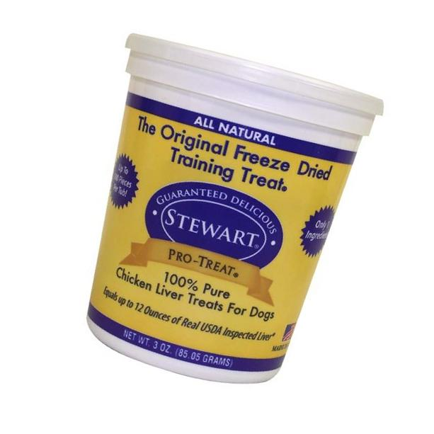 Stewart Pro-Treat Freeze Dried Chicken Liver 3 oz