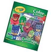Crayola 04-0077 Color And Sticker Pj Masks NEW