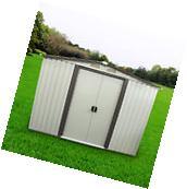 8'x8' Outdoor Tool Storage Shed Utility Backyard Garden