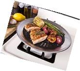 Kitchen + Home Stove Top Smokeless Grill Indoor BBQ,