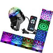 Strobe Lights For Parties DJ Sound Activated Disco Ball Lamp