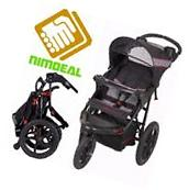 CAR SEAT STROLLER Jogger for Convertible Travel System