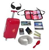 Doll Travel Suitcase with Accessories - Travel Set
