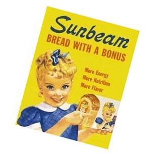 Sunbeam Bread Little Miss Sunbeam Retro Vintage Tin Sign New