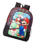 Nintendo Super Mario 16 Inch Large Kids Backpack School Bag
