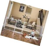 Regalo 192-Inch Super Wide Configurable Baby Gate and 8-