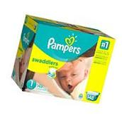 Pampers Swaddlers Diapers Size 1, 148 Count New