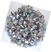 Free shipping New 100 PCS swarovski crystal 4mm #5301 Bicone
