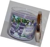 NEW BATH & BODY WORKS SWEATER WEATHER SCENTED CANDLE 3 WICK