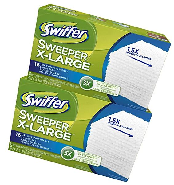 Sweeper Dry Cloth Refill - Scented - 32 ct - 2 pk