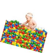 400 Pcs Kids Baby Swim Pit Toy Colorful Ball Fun Ball Soft