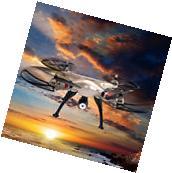 Syma X8HC 2.4G 4CH 6-Axis Gyro RC Quadcopter Drone 2MP HD