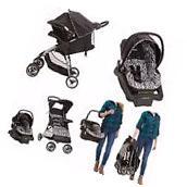 Travel System Stroller Infant Baby Lightweight Car Seat