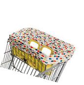 Skip Hop Take Cover Shopping Cart & High Chair Cover  Double