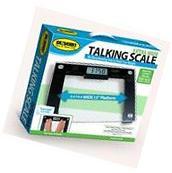 Talking Digital Scale, 15'' x 12'' x 1'' Platform, 550 lb.