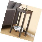 Tall End Table Chair Side Accent Modern Coffee Stand