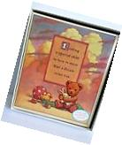 Hallmark Teddy Bears Adopted Child Baby Album Book For Boy