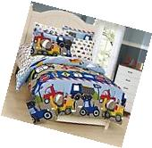 Mk Collection 7 Pc full Size Kids Teens boys Comforter and