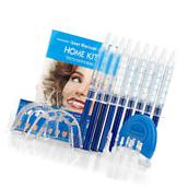 Teeth Whitening Gel Kit    Gels  Trays  White LED Light 44%