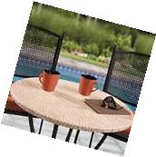 terracotta mosaic tile Elastic fitted vinyl outdoor 48""