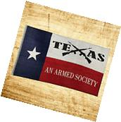 New 3x5 Texas An Armed Society Flag Indoor Outdoor Polyester