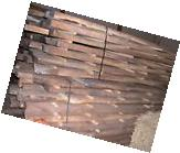 THICK 8/4 Rough Sawn Air Dried Black Walnut Lumber 20 board