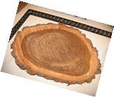 "16"" 18"" Thick Fresh Cut Black Walnut Live Edge Wood Slab"
