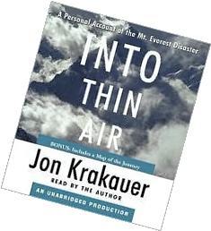 Into Thin Air Unabridged edition