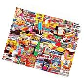 White Mountain Puzzles Things I Ate As A Kid - 1000 Piece