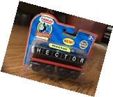 NEW! THOMAS & FRIENDS HECTOR TRAIN WOODEN RAILWAY REAL WOOD
