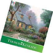 Thomas Kinkade - Foxglove Cottage - 1000 Piece Jigsaw Puzzle