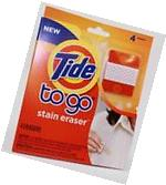 Tide To Go Stain Eraser, 4-Ct Box Pack of 4 Boxes