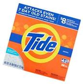 Tide HE Laundry Detergent Original Scent Powder Box