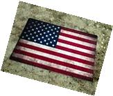 "TIN SIGN ""American Flag"" Metal Decor Wall Art Store Shop"