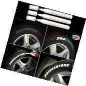 3 LOT TIRE LETTER White PERMANENT PAINT MARKER SIDE WALL