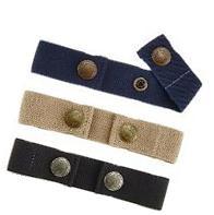 Dapper Snapper Baby & Toddler Adjustable Belt- Boy's 3Pack: