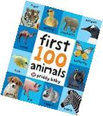 Toddler Learning Book First 100 Animals Board Child Toy