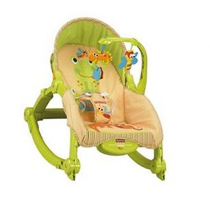 Fisher-Price Newborn-to-Toddler Portable Rocker, OPEN BOX